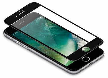 iPhone 8 Plus TPU & Siliconen & Glas