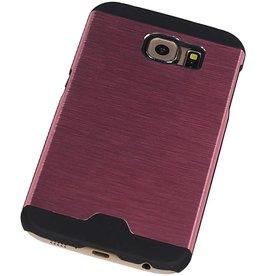 Lichte Aluminium Hardcase voor Galaxy S6 G920F Roze