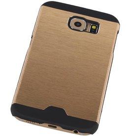 Lichte Aluminium Hardcase voor Galaxy S6 G920F Goud
