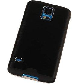 Lichte Aluminium Hardcase voor Galaxy Alpha G850F Zwart