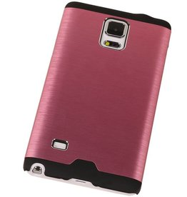 Lichte Aluminium Hardcase voor Galaxy Note 4 Roze