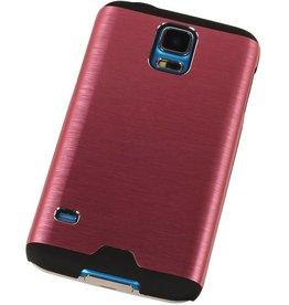 Lichte Aluminium Hardcase voor Galaxy S4 i9500 Roze