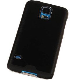 Lichte Aluminium Hardcase voor Galaxy S4 i9500 Zwart