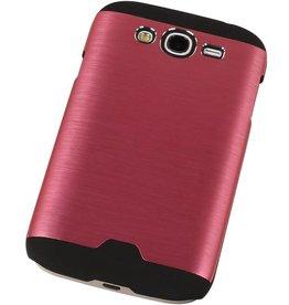Lichte Aluminium Hardcase voor Galaxy Grand i9082 9060 Roze