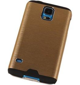Lichte Aluminium Hardcase voor Galaxy A5 Goud