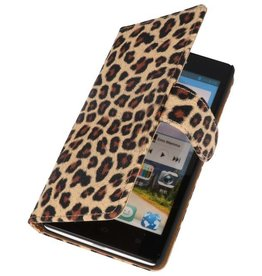 Luipaard Bookstyle Case Hoes voor Huawei Ascend G700 Chita