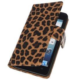 Luipaard Bookstyle Case Hoes voor Huwaei Ascend G510 Chita