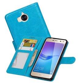 Huawei Y5 / Y6 2017 Portemonnee booktype wallet Turquoise