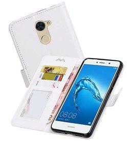 Huawei Y7 / Y7 Prime Portemonnee booktype wallet case Wit