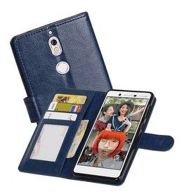 Nokia 7 Portemonnee hoesje booktype wallet case Donker Blauw