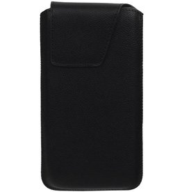 Smartphone Pouch voor iPhone 6 / 6S Zwart