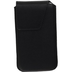 Smartphone Pouch Maat S ( Galaxy S2 i9100 )  Zwart