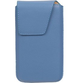 Smartphone Pouch Maat S ( Galaxy S2 i9100 )  Blauw