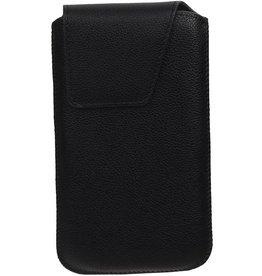 Smartphone Pouch Maat M ( Galaxy S4 i9500 )  Zwart