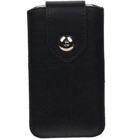 Luxe Smartphone Pouch Maat S ( Galaxy S2 i9100 )  Zwart