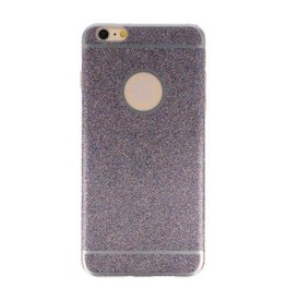 Bling TPU Hoesje Case voor iPhone 6 / 6s Plus Paars