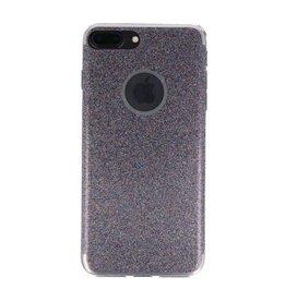 Bling TPU Hoesje Case voor iPhone 7 / 8 Plus Paars