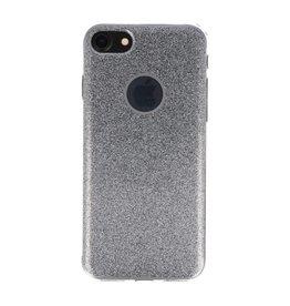 Bling TPU Hoesje Case voor iPhone 7 / 8 Zilver