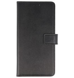 Bookstyle Wallet Cases Hoes voor Huawei P Smart Zwart
