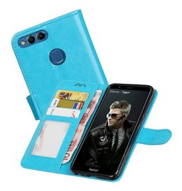 Huawei P Smart Portemonnee booktype wallet case Turquoise