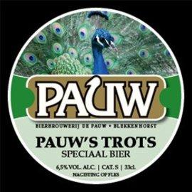Pauw Speciaalbier 75 cl Pauw's Trots Altbier