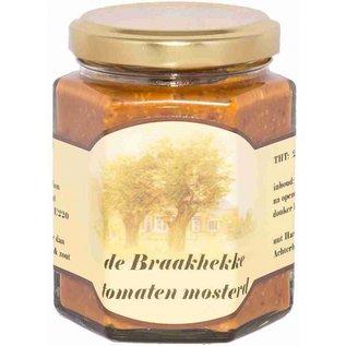 Mosterdmakerij de Braakhekke Mosterd tomaat – 250 gram