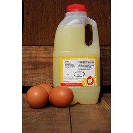 Van de Vis Eierspecialist - Échte Barneveldse scharreleieren Vloeibaar eiwit 1 liter van scharreleieren'