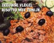 risotto met tonijn
