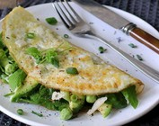 Skinny omelet