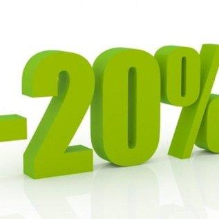 kennismakingspakket met 20% korting!