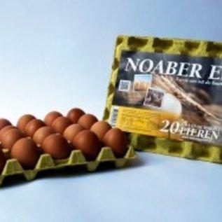 Noaber Eieren Noaber Eieren, Scharrel, Klasse M 20 stuks