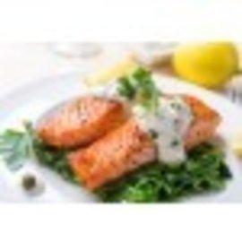 my seafood zalm met vel