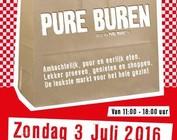 Zondag 3 juli 11:00-17:00 uur 't Kampje Ouderkerk aan de Amstel pure buren