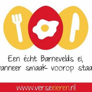 Van de Vis Eierspecialist - Échte Barneveldse scharreleieren Past(ei) knietjes – spelt pasta