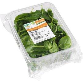 Proef Baby spinazie verpakt