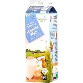 Proef Halfvolle melk in tetrapak (12) (Weerribben Zuivel)