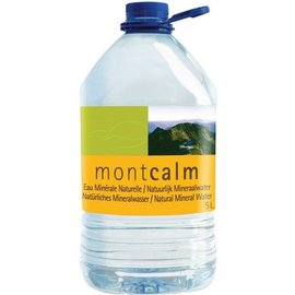 Proef Natuurlijk mineraalwater z.k. 5l (Montcalm)