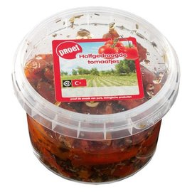 Proef Halfgedroogde tomaatjes