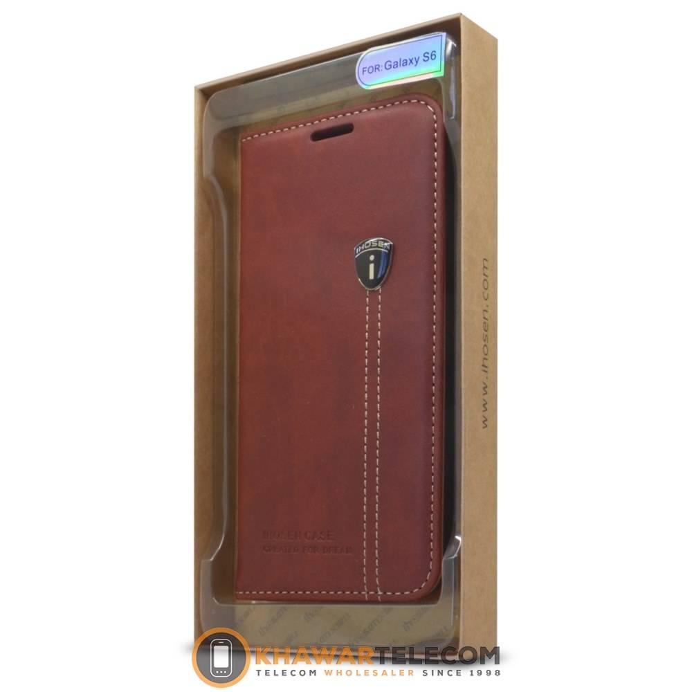 ihosen leather book case galaxy s6 edge plus gro handel. Black Bedroom Furniture Sets. Home Design Ideas
