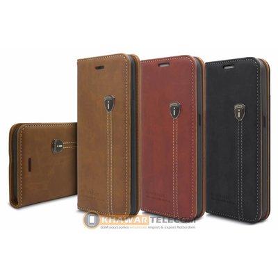 iHosen Leather Book Case Galaxy S7 Edge