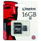 16GB Kingston Micro SD Card Class 10