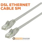 Netwerkkabel 5m - DSL Ethernet Cable 5m