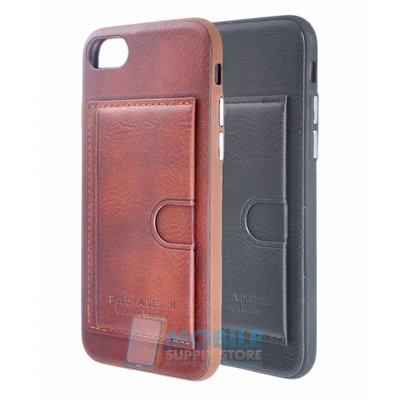 Puloka Genuine Leather Card Back Cover IPhone 7 / 8