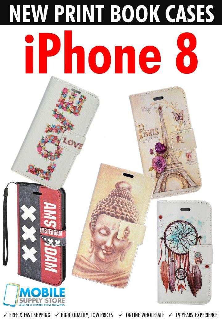 iPhone 8 Print Book Cases