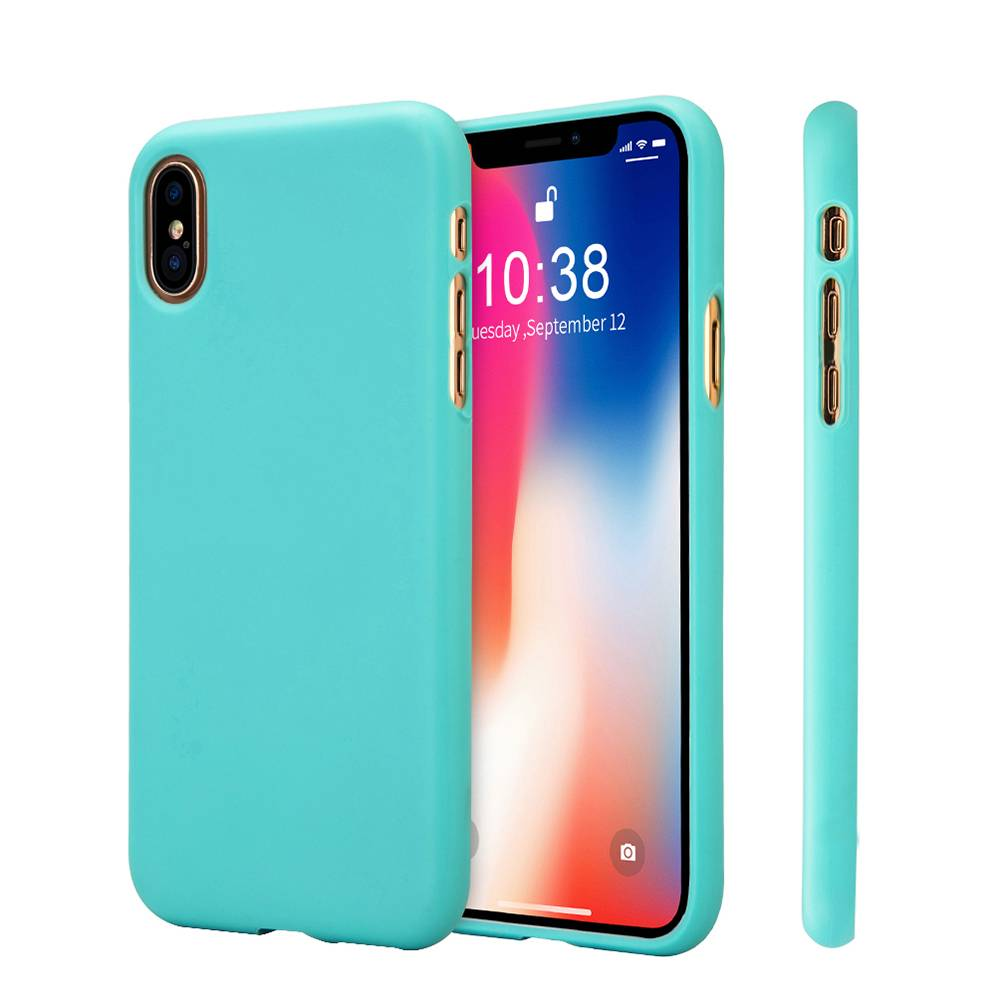 candy color matte silicone back cover iphone x. Black Bedroom Furniture Sets. Home Design Ideas