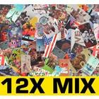 12X Mix Print Book Case Galaxy S2 i9100