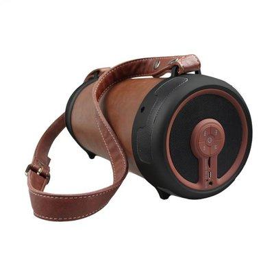 LeSenz BlueSenz Hype - Leren Bluetooth Speaker