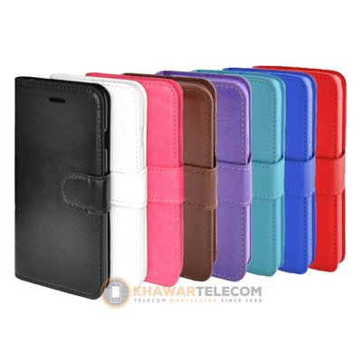 Round lock Book case Huawei P20 Lite