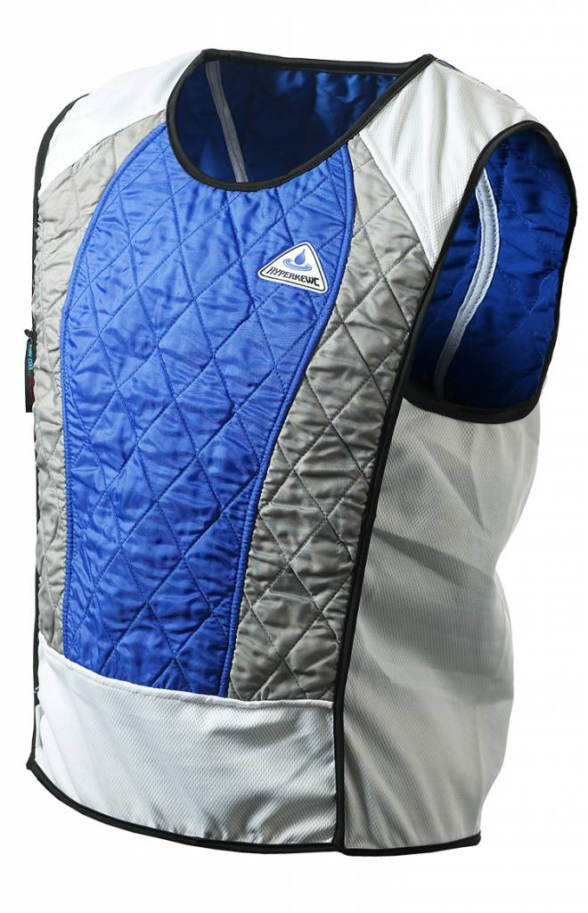 Evaporative Cooling Clothing : Hyperkewl hyperkewl™ evaporative cooling vest ultra
