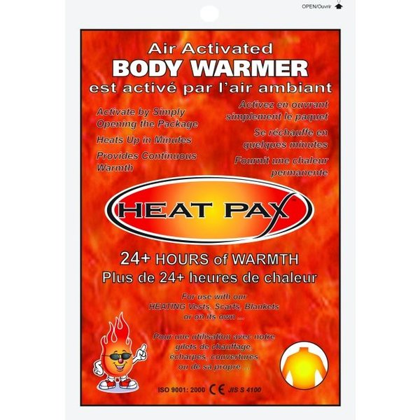 Heat Pax Air-Activated Body Warmers